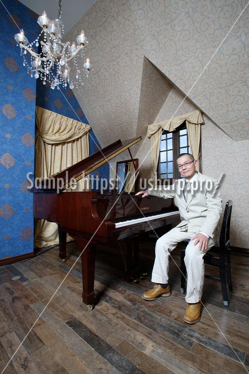 撮影例「ピアニスト」