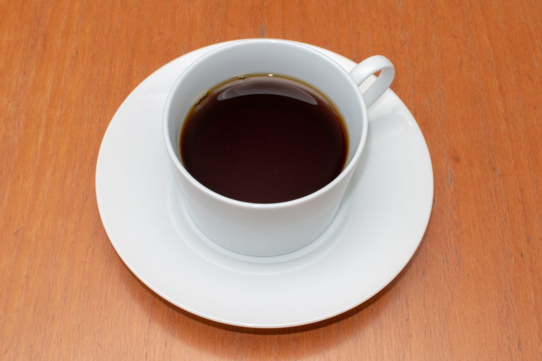 普通のコーヒーです